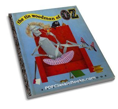 The Tin Woodman of Oz: A Little Golden Book