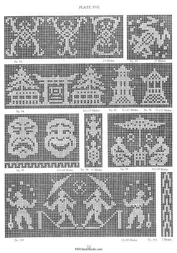 The New Filet Crochet Pattern Book
