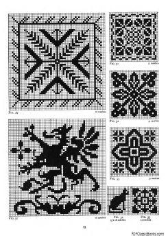 Filet Crochet Patterns - Free Craft Patterns | Purple Kitty