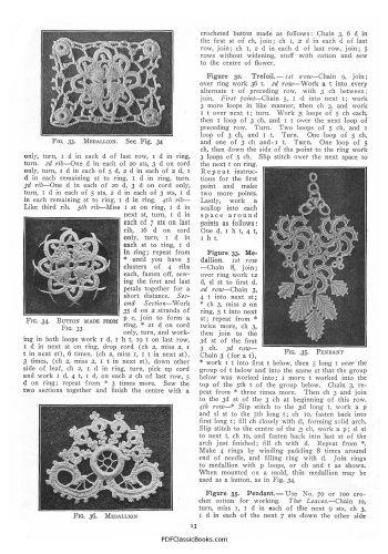 Irish Knitting Pattern Books : Priscilla Irish Crochet Pattern Book (2-Volume Set)